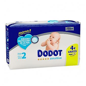 Dodot Empfindliche Windel Größe 2 mit 39 Einheiten