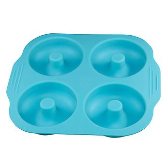 Donuts 4 Silicone Cake Mold Biscuit Mold Baking Mold Heat-resistant