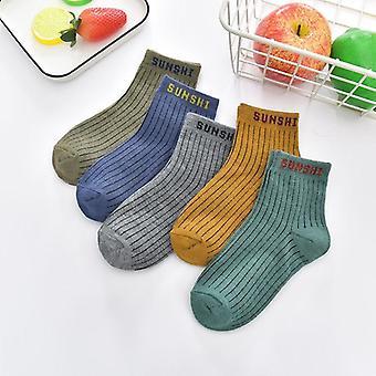 ربيع شتاء خريفي للأطفال وجورب متعدد الألوان