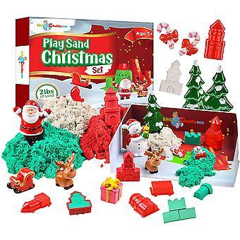 Play Sand Christmas Set - 2 Lbs Sand