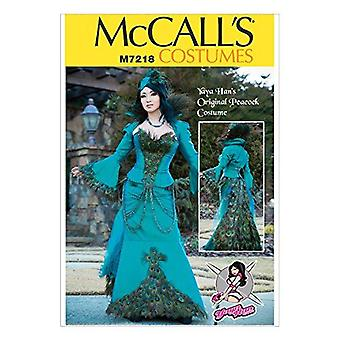 McCalls نمط الخياطة 7218 يايا هانكوس سترة مشد حجم مشد 6-14