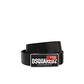 Dsquared2 D&d Red Tag Belt