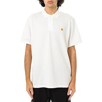Camiseta masculina carhartt wip s/s chase pique polo i023807.02