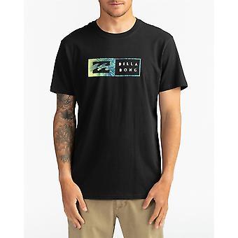 Billabong Menn's T-skjorte ~ Omvendt svart