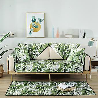 moderne luksus is silke sofa deksel elegant håndkle tegneserie slipcover anti-skli sete sofa dekor for sommersalong stue