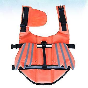 Viața practică costum de baie de vară moda haine de înot vestă de viață respirabilă pentru cățelușul de companie (dimensiune)