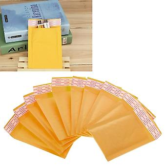 10 Pcs Kraft Bubble Mailers Yellow Padded Mailing Bags Paper