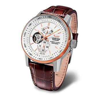 Vostok-Europe - Wristwatch - Men ' Limousine Tritium - YN84-565E550 leather