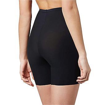 Maidenform Sleek Smoothers Shorty Shapewear, Black, Medium