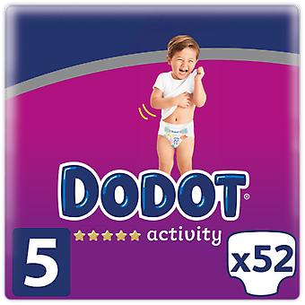 Dodot Activity diapers Size 5 52 units