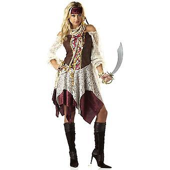 South Seas Siren Pirate Wench Swashbuckler Buccaneer Book Week Womens Costume