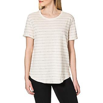 LTB Jeans Zireja T-Shirt, White Black Stripes 5246, S Woman
