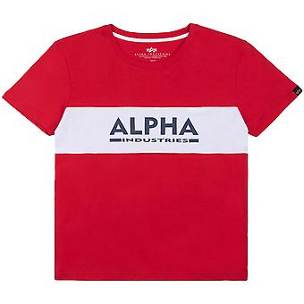 Alpha Industries Camiseta para mujer Alpha Inlay