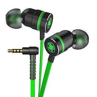 سماعة رأس 3.5mm لاعب ستيريو باس الألعاب مع ميكروفون المغناطيسي 2.2M سماعة سلكية للألعاب