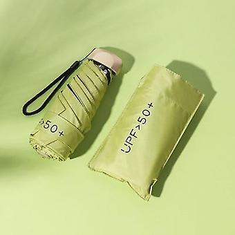 Ultralichte zonnige paraplu's, opvouwbare minizak, vinyl zonbescherming