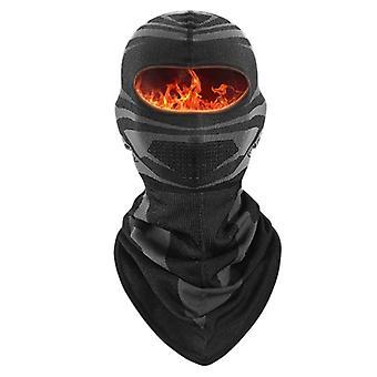 Unisex Zimná Balaclava Ski Maska na tvár