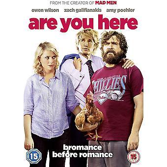 Är du här DVD