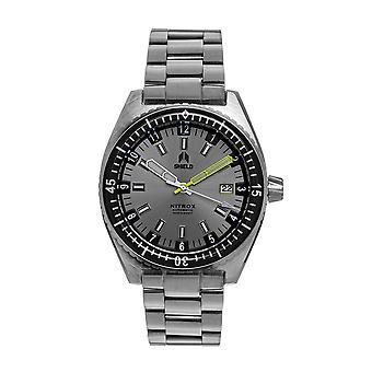 Shield Nitrox Bracelet Watch w/Date - Grey