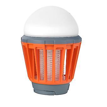 usb mosquito repellent light, household indoor plug-in mosquito killer(Orange)