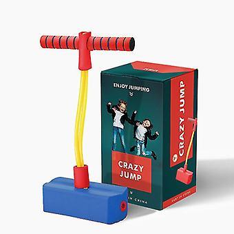 Pogo Stick For Kids, Hoppende legetøj til småbørn, indendørs og udendørs sjov (blå)