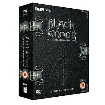 Blackadder The Complete Collection DVD (2005) Rowan Atkinson Zertifikat 15 6 Discs Region 2