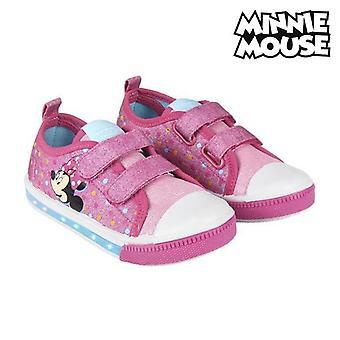 Casual kengät LEDit Minnie Hiiri 73620 Vaaleanpunainen
