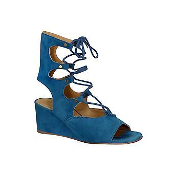 Chlo� low wedge heels sandals in Overseas suede leather