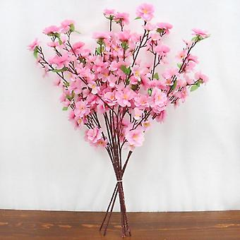 Country Style Artificial Flower Rattan Vase