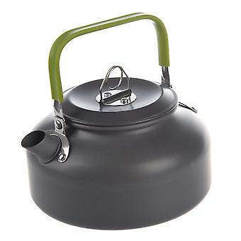 Haeger-0.8l portable ultra-light outdoor hiking camping survival water kettle teapot coffee pot anodised aluminum