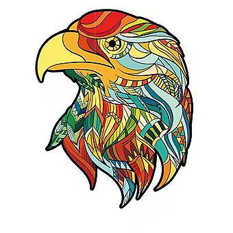 Children's eagle wooden puzzle toy A5