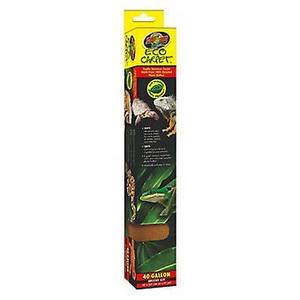 Zoo Med Eco Carpet Reptile Carpet - Tan - Éleveur de 40 gal (18» x 36»)