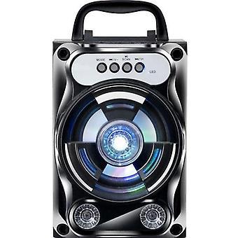 Draagbare Karaoke Speaker Draadloze Bluetooth Speaker System Bass Card / AUX / FM  Draagbare luidsprekers (zwart)