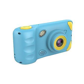 كاميرات رقمية الاطفال كاميرا 4.39 بوصة شاشة 3mp الأطفال كاميرا زرقاء
