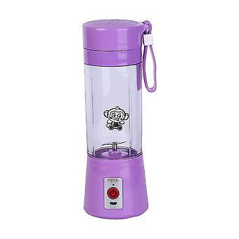 380ml Usb Electric Handheld Fruit & Smoothie Blender