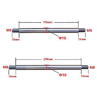 M8 10 200mm / 300mm מנגנון הדדיות ציר אופטי טלסקופי מנוע נושאת אופטי ציר רוקר ישר פיר
