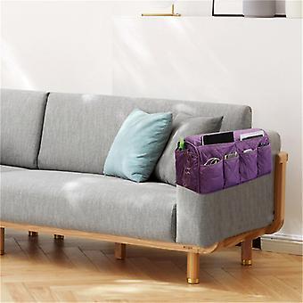 Mimigo Sofa Stuhl Couch Armlehne Organizer, 14 Taschen Anti-Rutsch Sessel Aufbewahrungstasche, Passt für Tablet, Telefon, Pad, Buch, Zeitschriften, TV Fernbedienung
