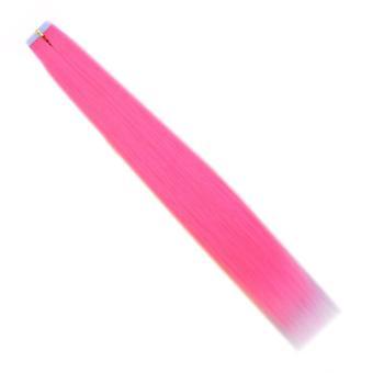 Colle colorée colorée de perruque d'extension invisible de cheveux