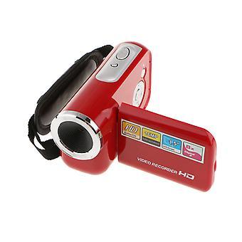מצלמת וידאו ניידת HD 8x מקליט וידאו זום דיגיטלי Dvr אדום