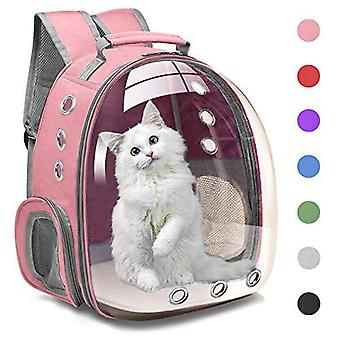Cat Backpack Carrier Bubble Carrying Bag, Small Dog Backpack Carrier For Small Medium Dogs Cats, Space Capsule Pet Carrier Dog Hiking Backpack, Airlin