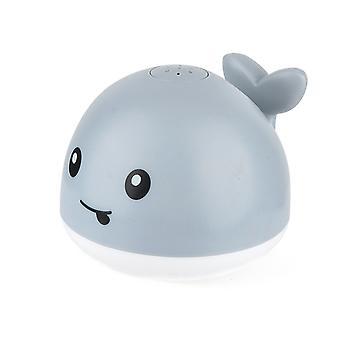 Baby Kids Electric Bath Toys Led Light Tub Little Whale Sprinkler Ball
