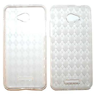 Unlimited Cellular Deluxe Silicon Case for HTC Droid DNA (PU Skin, Transparent Clear)
