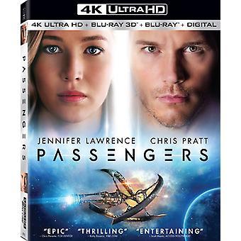 Passengers (2016) [Blu-ray] USA import