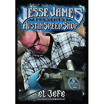 Jesse James - Austin Speed Shop [DVD] USA import