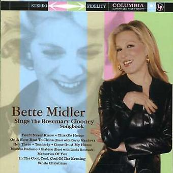 Bette Midler - Sings the Rosemary Clooney Songbook [CD] USA import