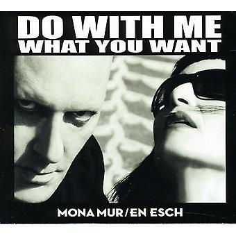 Mona Mur & En Esch - avec moi ce que vous voulez [CD] USA import