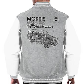 ヘインズ ワーク ショップ マニュアル 0024 モーリス マイナー 1000 黒メンズ ジャケット