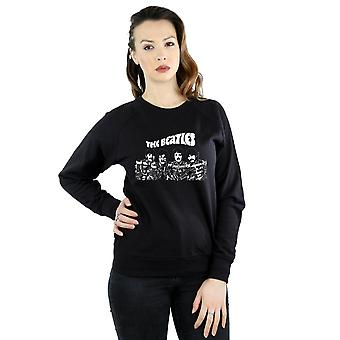 Die Beatles Frauen Cartoon erschossen Sweatshirt