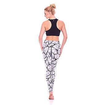 Mio Active Long Jazzy Pebble Yoga Pants MS16S7L