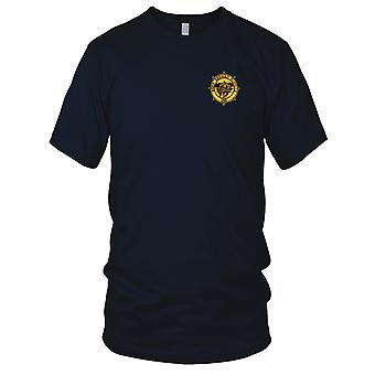 US Navy RAF-1 River Assault Flotilla One Embroidered Patch - Mens T Shirt