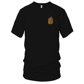 US Army Medical Det 498th Dustoff Medic - militære emblemer Vietnamkrigen broderede Patch - Herre T Shirt